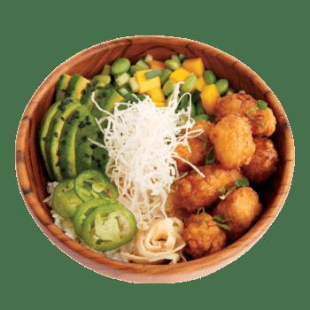 Poke Bowls General Tao Chicken