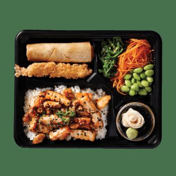Bento Box Grilled Chicken & Salad