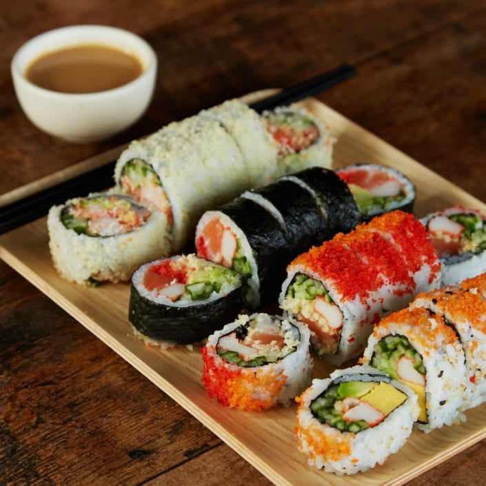 So Many Options! <br> How to choose your sushi rolls?